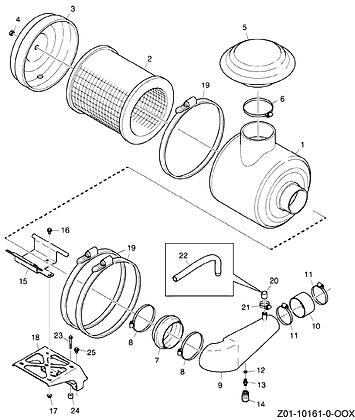 JCB Element Air Filter: 320/07446