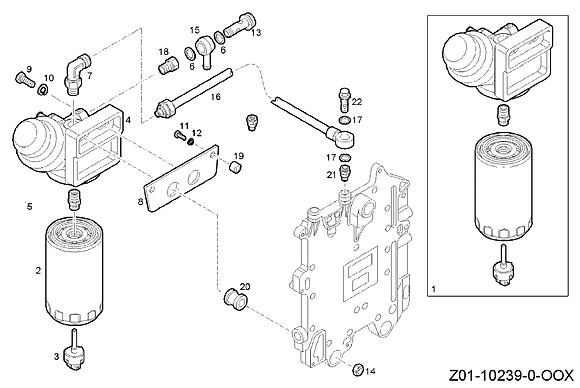 JCB Element Fuel Filter: 332/Z0606