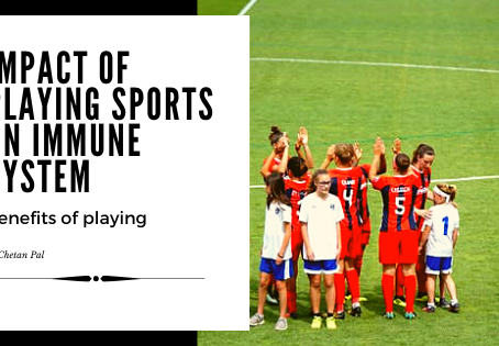 Impact of Playing Sports on Immune System