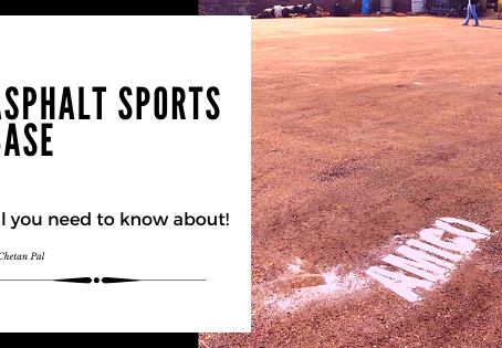 Developing Asphalt Sports Base