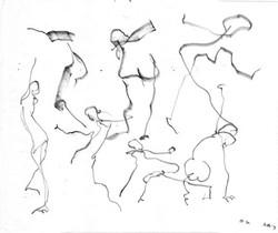 Dancers Flying Loose