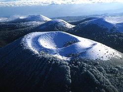 Puy de Come l' hiver