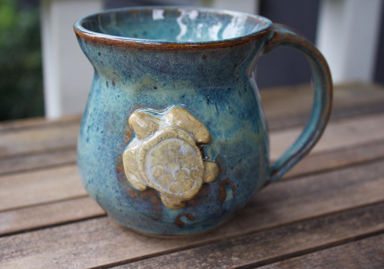 Turtle Mug 005