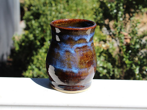 Jungle Sapphire Vase