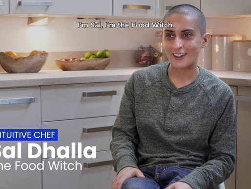 Sal the Food Witch... on intuitive cooking and joyful eating