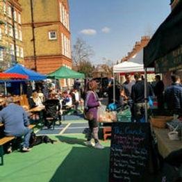 Brookgreen market, outdoor stands