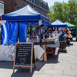 Image of a stall at Bishop's Park farmer's market