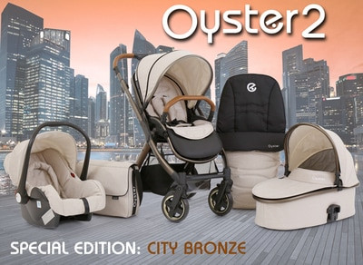 Discount Deal - Oyster 2 Special Edition City Bronze 3 in 1