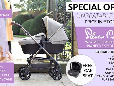 SilverCross Free Car Seat Offer