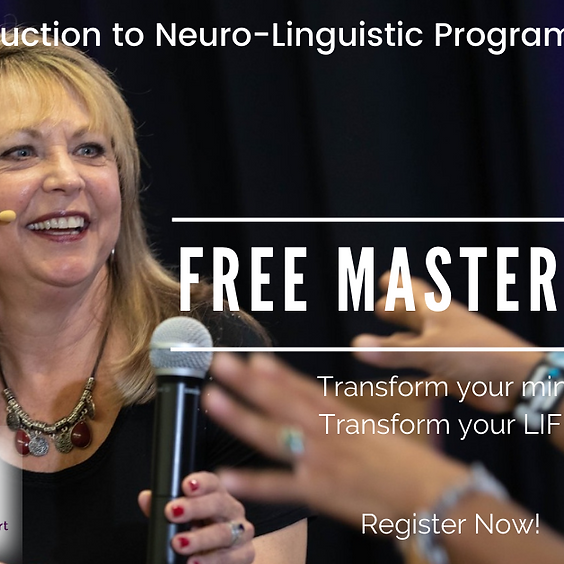 August 6, 2021 - FREE Intro to NLP Masterclass