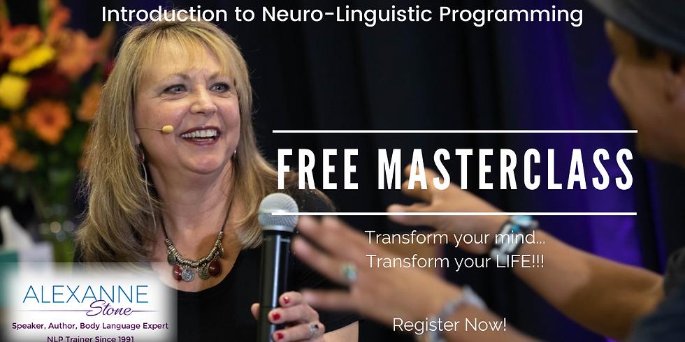 July 9, 2021 - FREE Intro to NLP Masterclass