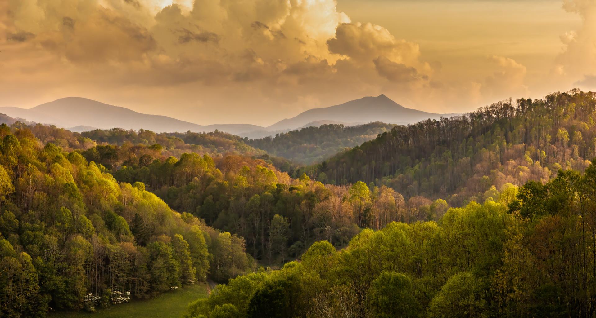 Valley of Morning Light - Creston, NC