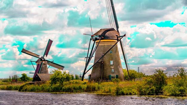 Kinderdijk - 19 Windmills, - 1700's.jpg