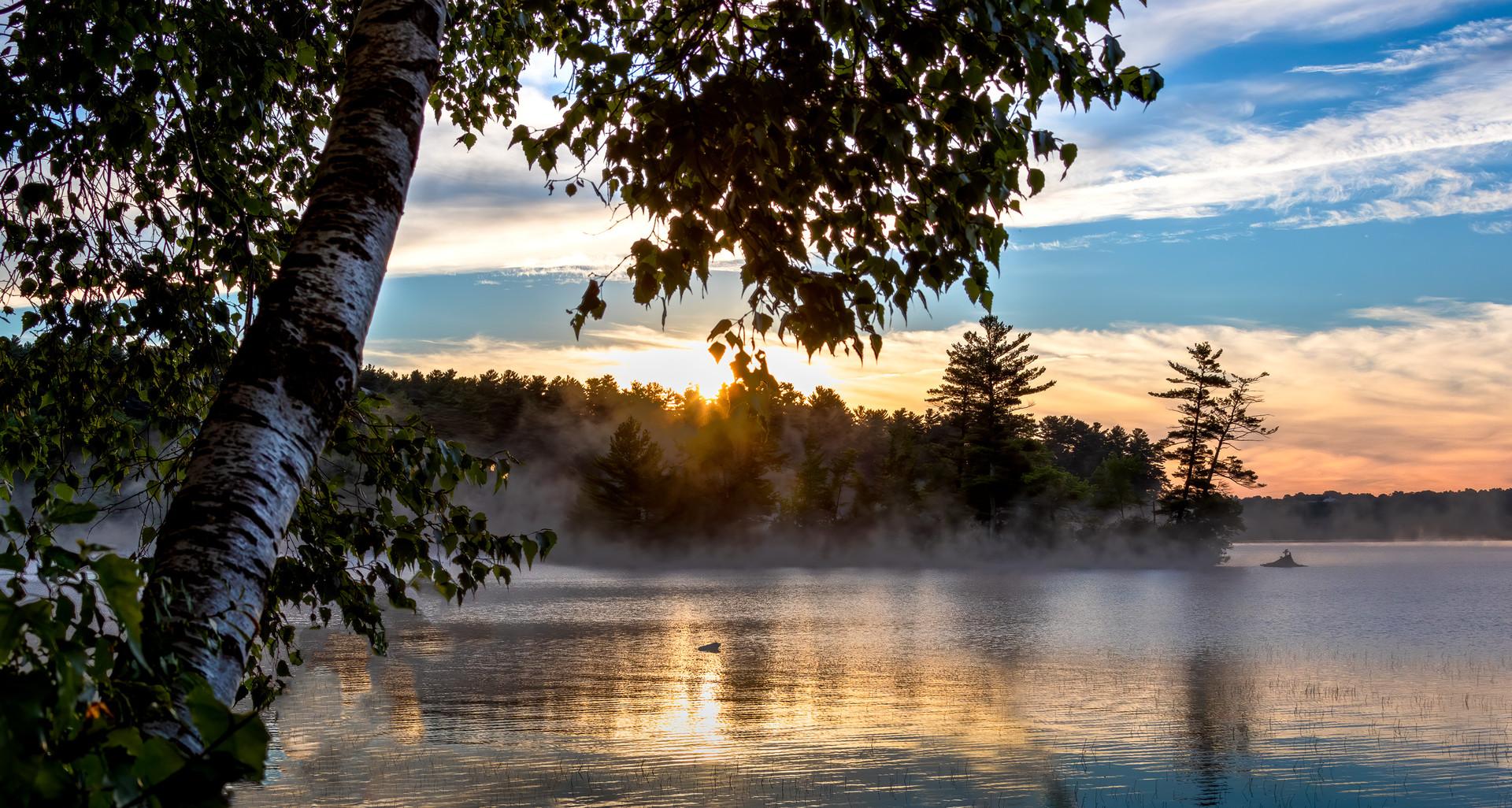 Thompson Lake at Dawn