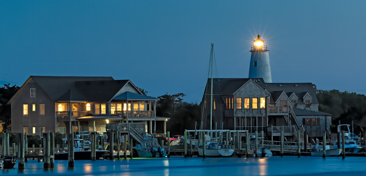 Silver Lake Harbor and Lighthouse