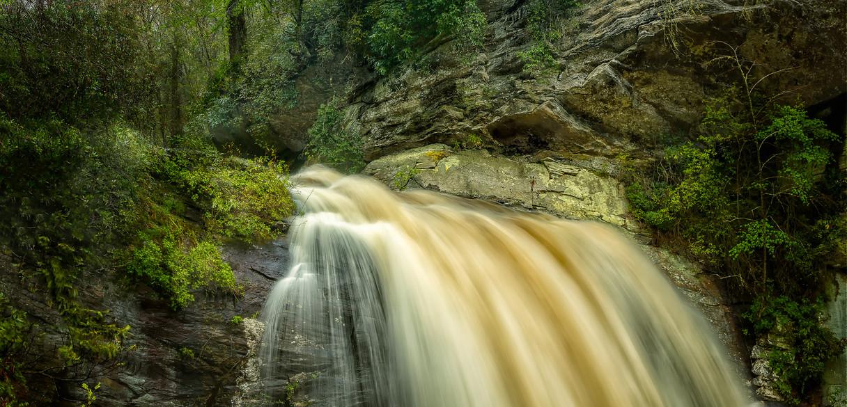 Looking Glass Falls, Blue Ridge Mountains