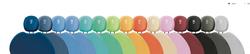 Gammes de couleur Castellini