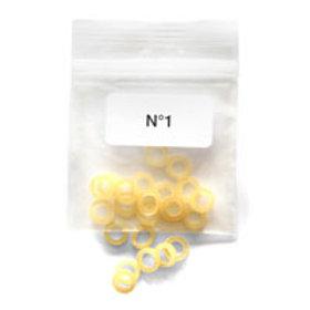 16 élastiques N°1 (standard)