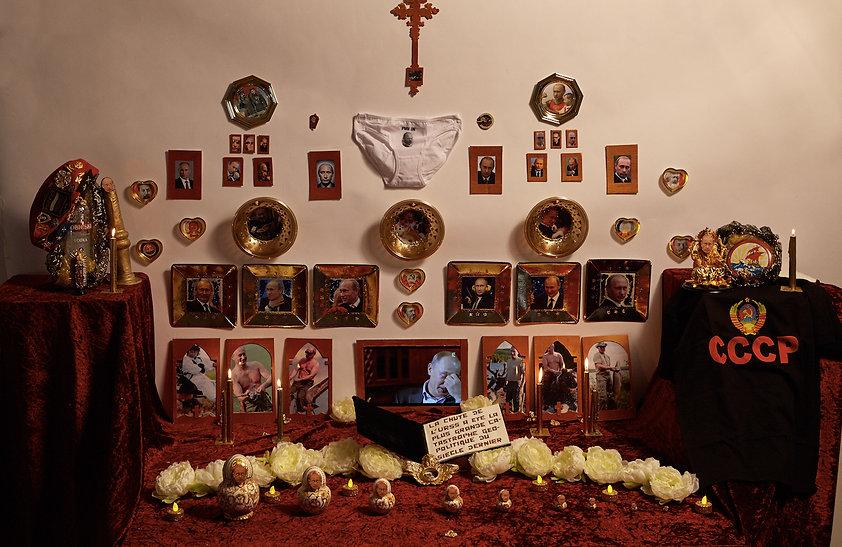 Léa Porré, Lea Porre, lea porre, vladimir putin, shrine, central saint martins