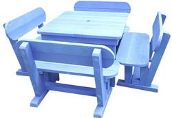 8 Seater Sleeper Patio Set (square)