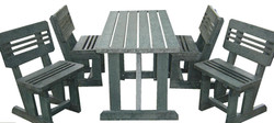 4/8 Seater Fancy Patio Set With Back