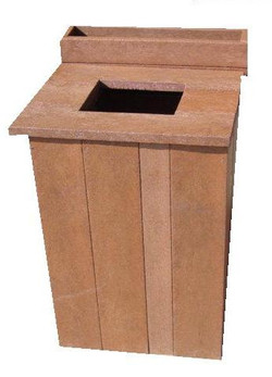Stompie Dustbin with lid