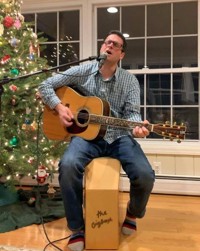 Part 2 - Mark Pires Improvising a New Song on The GigBox!  Order yours today, the ultimate accompaniment, yourself.. www.gigboxstar.com US Patent 9,165,541 #musician #musicians #improvisation #dmb #davematthews #davematthewsband #percussion #musicisl