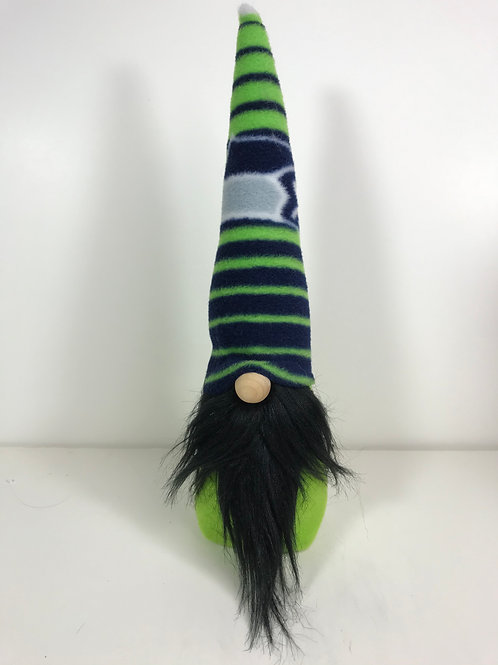 Gnome - Seattle Seahawks Black Beard
