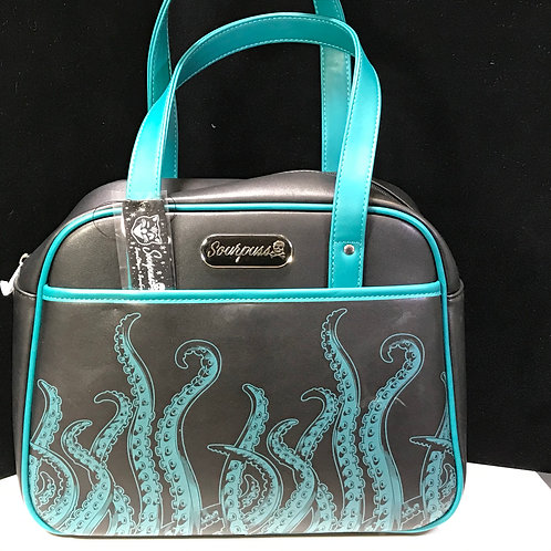 Sourpuss Tentacle bowling bag purse