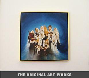 unique original painting for sale - lina hazan - לינה חזן