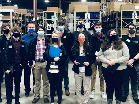 Montgomery County CEO Program Tours McKay New Store and Warehouse