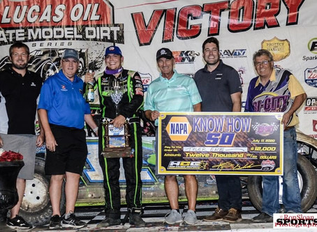 Lucas Oil Late Model Dirt Series NAPA Know How 50, July 17, 2020