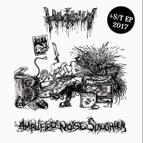 Hacksaw - Amplified Noise Slaughter + EP 2017 CD