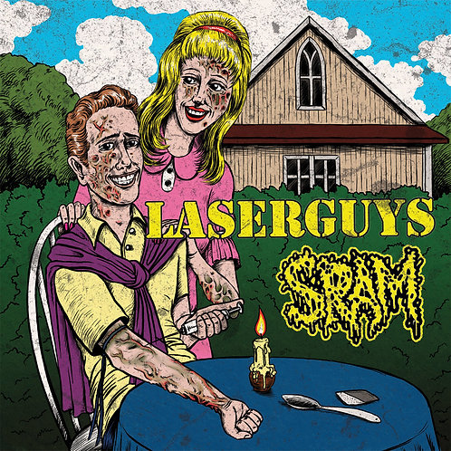 Laserguys / SRAM - split 7""