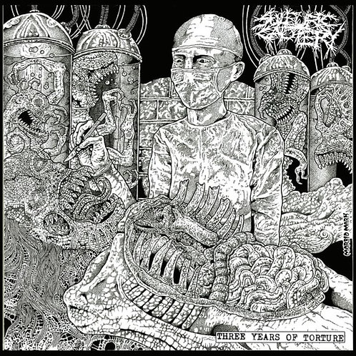 Sulfuric Cautery ‎– Three Years of Torture CD