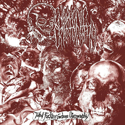 Embryonic Cryptopathia - Total Fucking Garbage Discography - CD