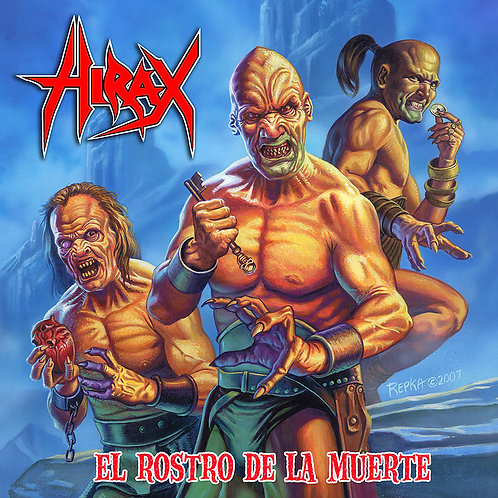 Hirax – El Rostro De La Muerte CD