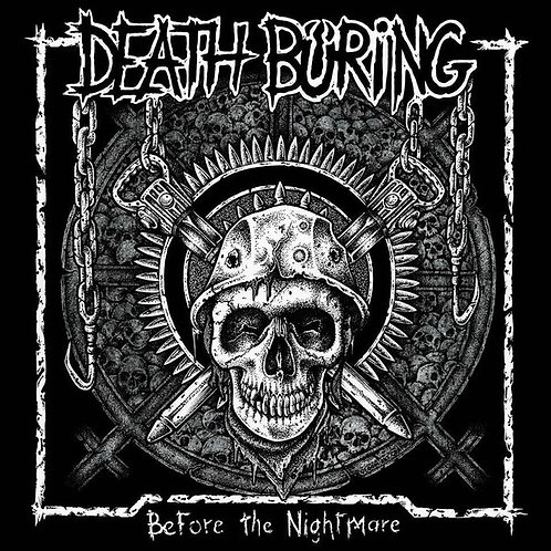 DEATH BURNING - BEFORE THE NIGHTMARE LP 12""