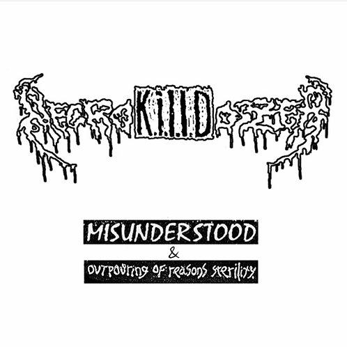 NecroK.I.L.L.Dozer – Misunderstood / Outpouring Of Reasons Sterility CD