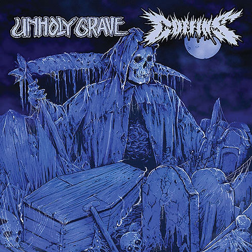 Unholy Grave / Coffins – Split CD