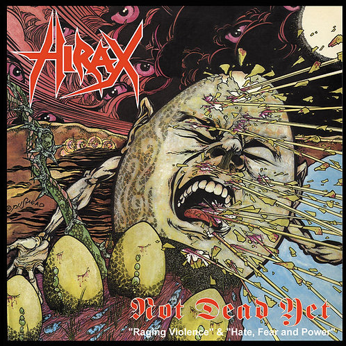 Hirax – Not Dead Yet CD