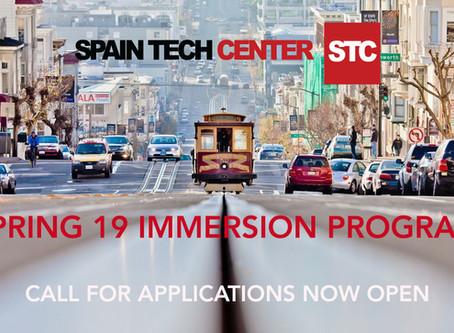 Spain Tech Center abre su convocatoria de primavera para su Programa de Inmersión en Silicon Valley