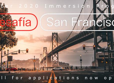 Desafía San Francisco abre la convocatoria para la undécima edición de su Programa de Inmersión