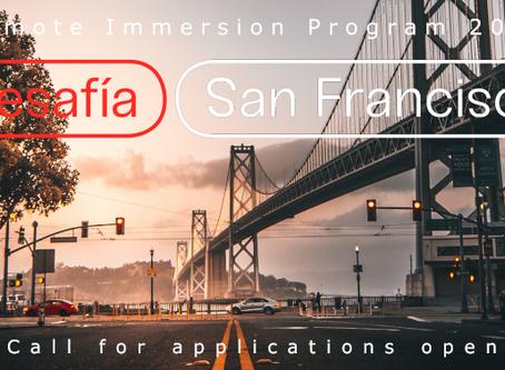 Desafía San Francisco tiene abierta la convocatoria de su Programa de Inmersión Remoto
