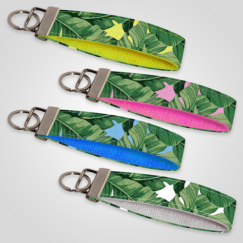 Banana Leaf Custom Keyfob