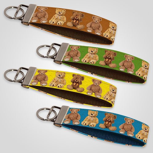 Teddy Bears Custom Keyfob
