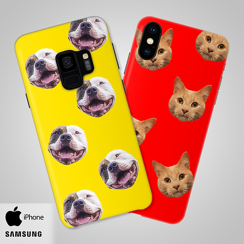 Create-Your-Own Custom Head Only Snap-On Phone Case | iPhone, Samsung