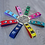 Thumbnail: Create-Your-Own Custom Head Only Keyfob | Solid Colours