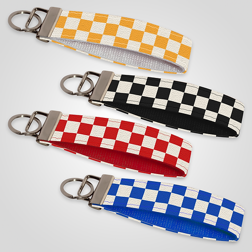 Checkerboard Collection: Custom Keyfob