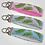 Thumbnail: Palm Tree Leaves Custom Keyfob